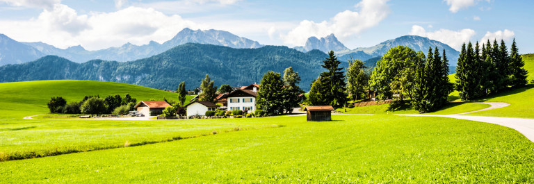 Village in the Allgaeu