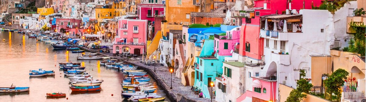 sunrise-over-la-corricella-small-fishermanns-village-on-the-island-procida-near-naples-italy-shutterstock_155887397-2-e1469514818212