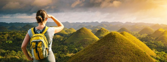 Philippinen Chocolate Hills