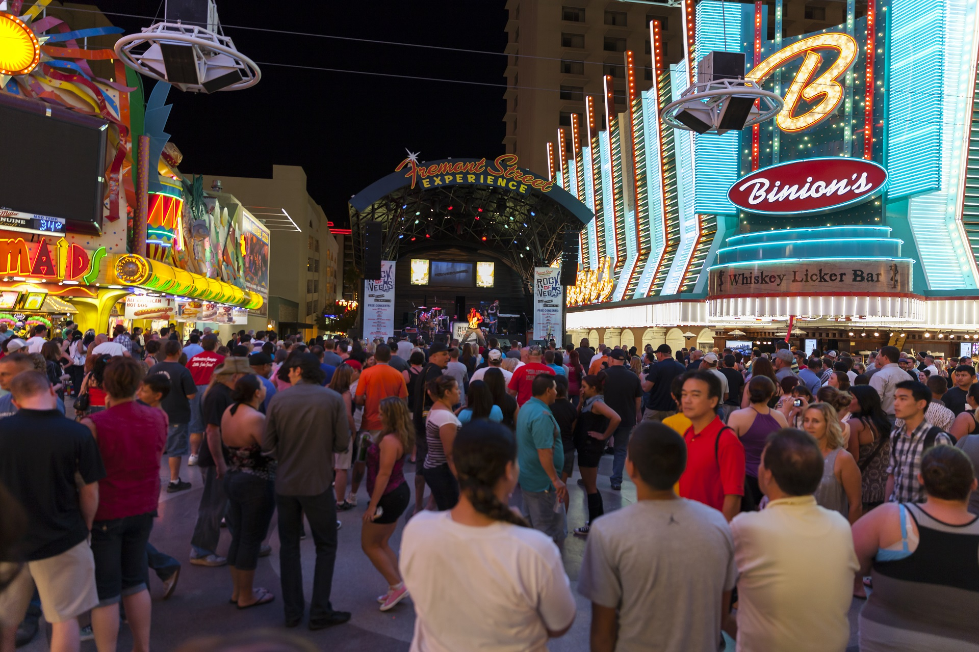 Fremont Street Experience in Las Vegas, Interview Nick, Dos and Don'ts in Las Vegas