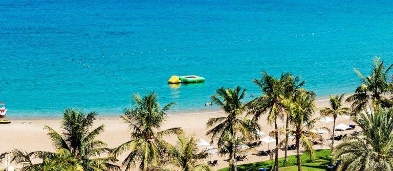 Strand im Oman zur besten Reisezeit