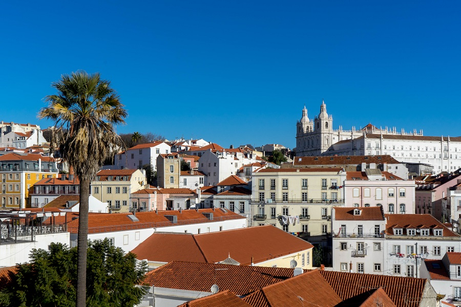 Lissabon in Portugal
