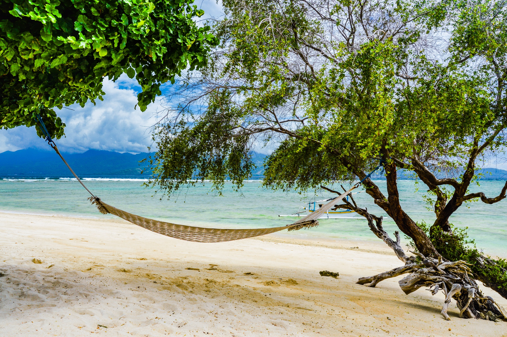 Gili T in Indonesien