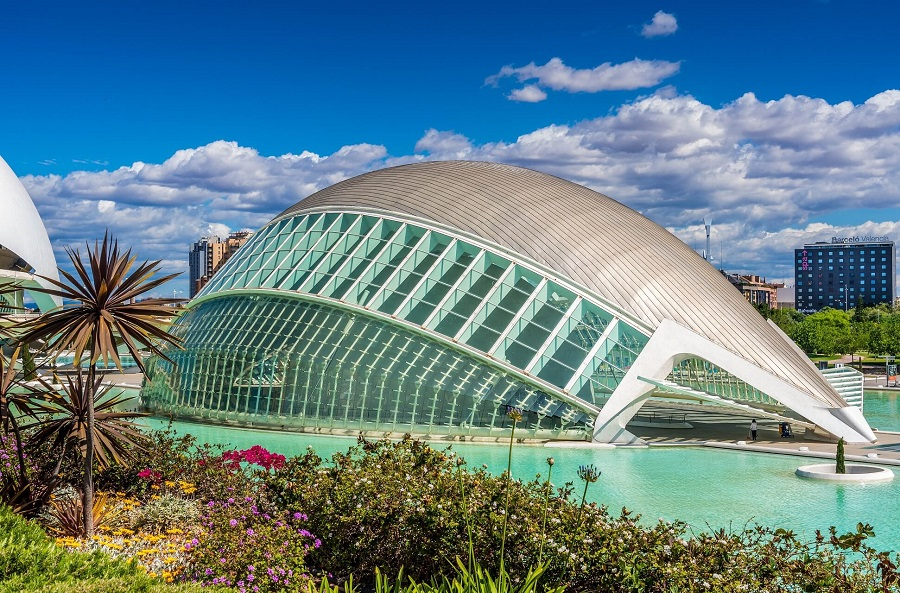 City of Arts and Sciences in Valencia, Spanien