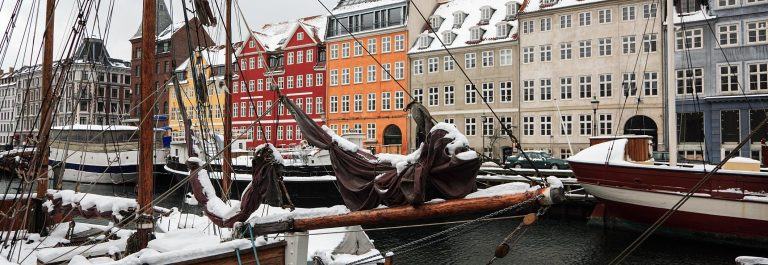 Winter in Copenhagen, Nyhavn.