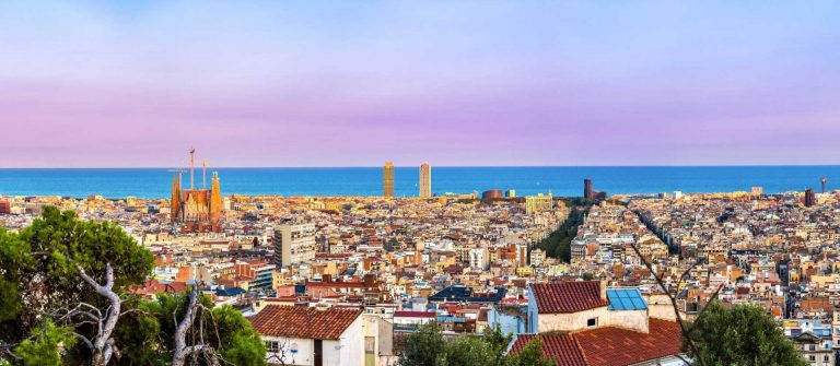 Panoramic-view-of-Barcelona-from-Park-Guell-in-a-summer-day-in-Spain-shutterstock_261086792-2-Copy