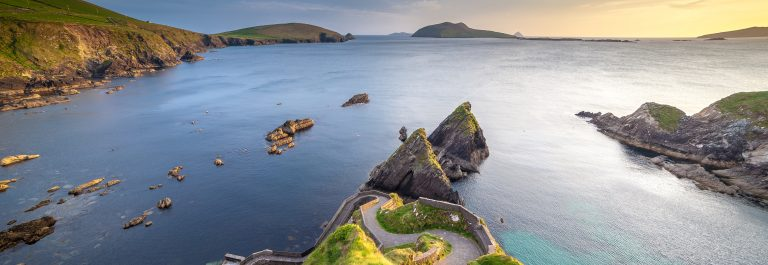 Dunquin-Pier-On-The-West-Coast-Of-Kerry-In-The-Dingle-Peninsula-shutterstock_641105455