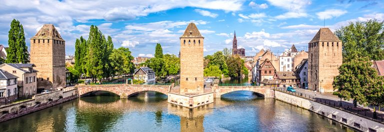 Covered Bridges (Ponts Couverts ) in Strasbourg