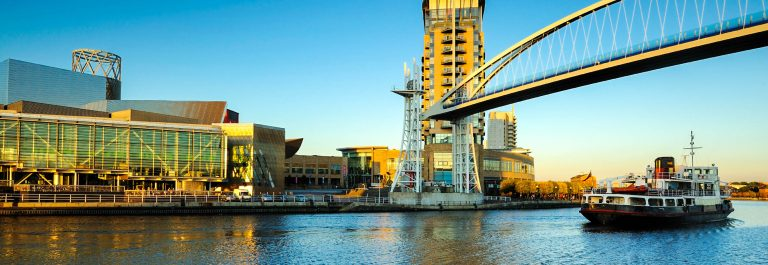 Millennium-Bridge-Raised-Salford-Quays-Manchester-UK-iStock_000018001692_Large-2