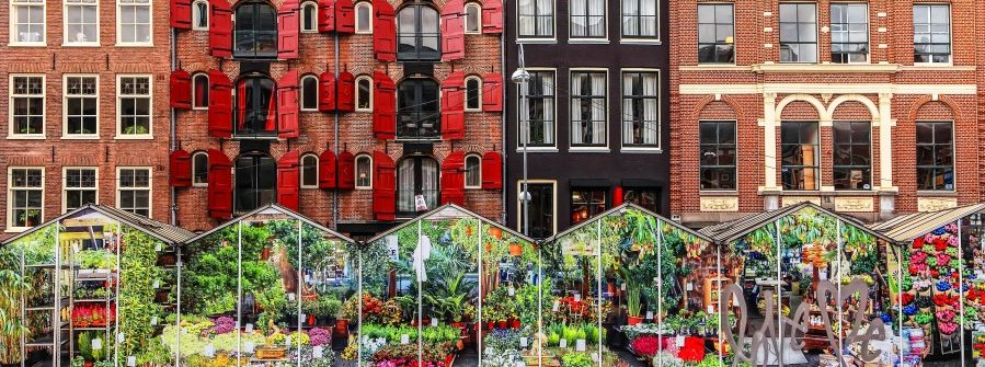 Amsterdam-street-traditional-ancient-dutch-colorful-buildings-and-flower-market-on-Single-canal-shutterstock_237479155-2
