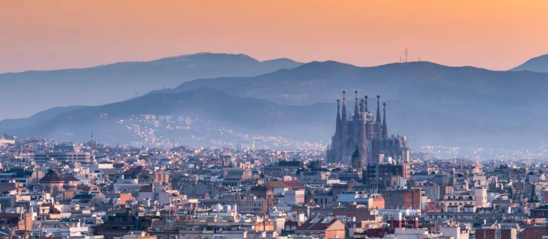 BarcelonaSagrada-familia-at-sunrise.Spain-shutterstock_481703659
