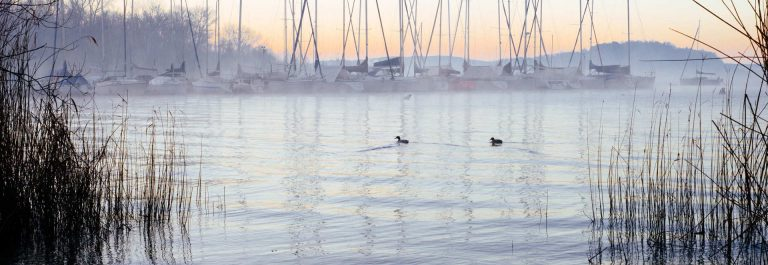 harbor-with-sailboats-at-dawn-on-Lake-Maggiore-in-winter_shutterstock_1304145181